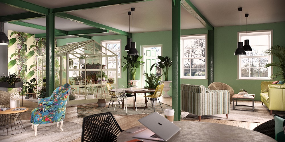 Co working Greenhouse Office