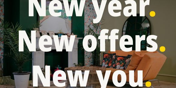 Use Space new year, new offers, new you.