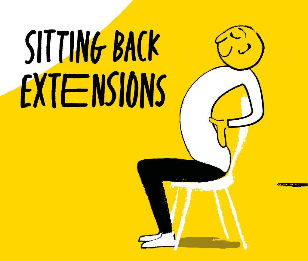 Sitting back extensions